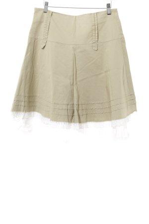 Biba Minirock beige Romantik-Look