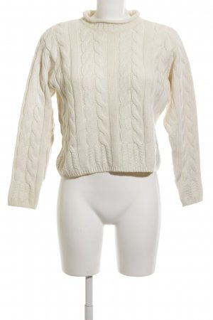 BIBA pariscop Cable Sweater natural white classic style