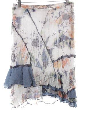 Biba Pleated Skirt flower pattern beach look
