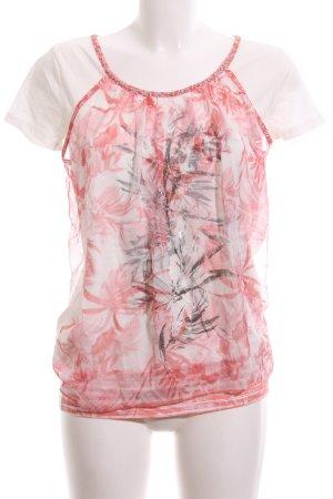 Biba Print-Shirt Allover-Druck Casual-Look