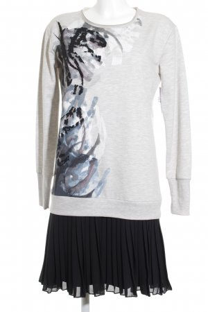 Biba Pulloverkleid Motivdruck extravaganter Stil