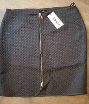 Biba Pencil Skirt anthracite mixture fibre