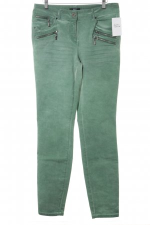 Biba Tube Jeans lime-green casual look