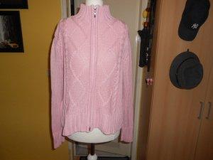 Biba Gebreid jack roze Gemengd weefsel