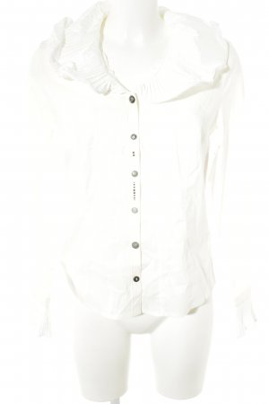 Biba Ruffled Blouse natural white '90s style