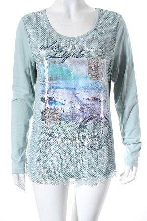 Biba Shirt türkis Casual-Look