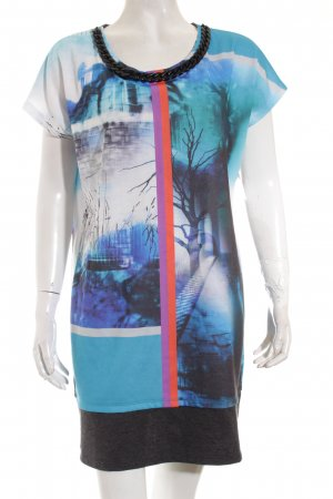 Biba Shirtkleid Kunstmuster Casual-Look