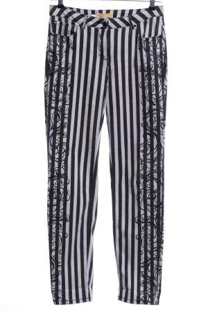 Biba Skinny Jeans black-white mixed pattern casual look