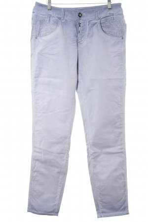 Biba Skinny Jeans pale blue color gradient casual look