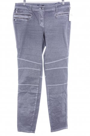 Biba Skinny Jeans silver-colored casual look