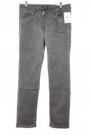 Biba Slim Jeans dark grey casual look