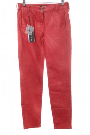 Biba Slim Jeans dark red casual look