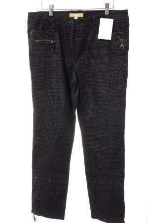 Biba Jeans slim fit nero-bianco sporco puntinato stile casual