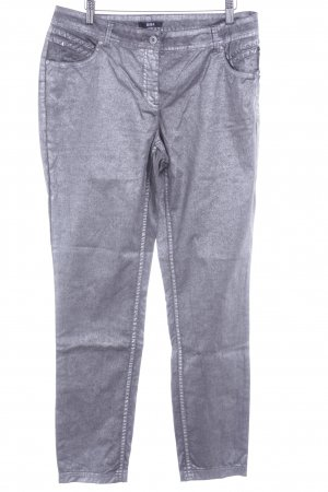 Biba Slim Jeans silver-colored casual look