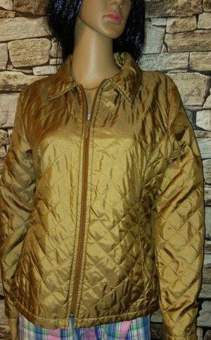 Biba Jersey Blazer gold-colored mixture fibre