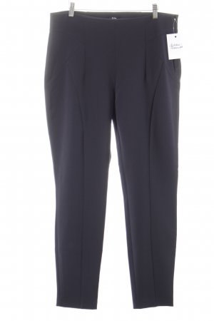 Biba Jersey Pants dark blue business style