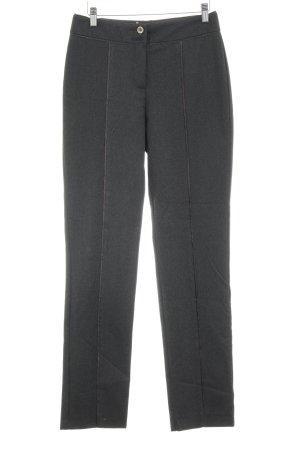 Biba Pantalone jersey grigio scuro-nero stile casual
