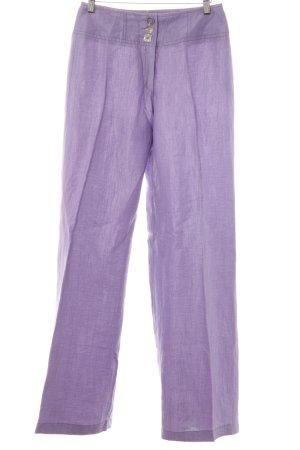 Biba Pantalón tipo suéter púrpura estilo estructurado