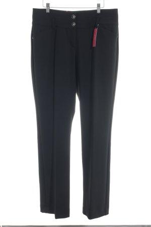 Biba Pantalón tipo suéter negro look casual