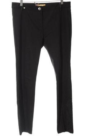 Biba Pantalón tipo suéter negro elegante