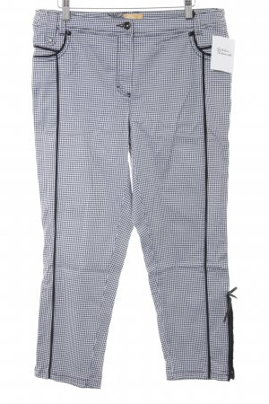 Biba Jersey Pants black-white Vichy check pattern casual look