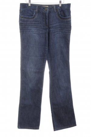 Biba Straight Leg Jeans dark blue casual look