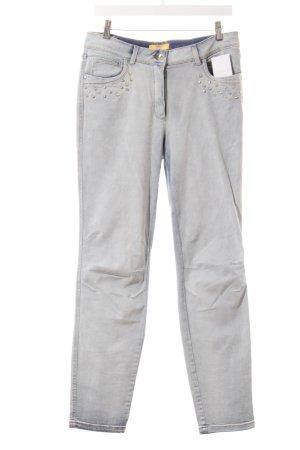 Biba Straight-Leg Jeans hellblau Casual-Look