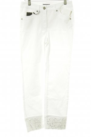 Biba Straight Leg Jeans white casual look