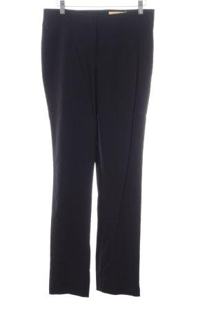 Biba Stretch broek zwart zakelijke stijl