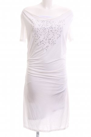 Biba Stretch Dress white-silver-colored casual look