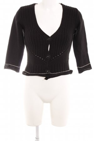 Biba Knitted Cardigan black casual look