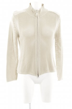 Biba Cardigan natural white cable stitch casual look