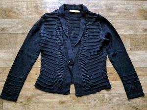 BIBA Strickjacke schwarz Baumwolle Neuwertig