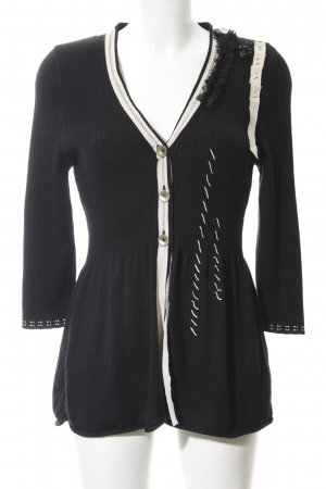 Biba Cardigan black-cream Paris-Look