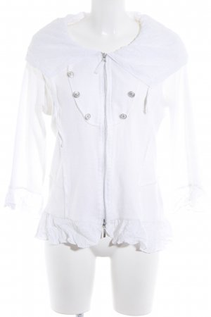 Biba Cardigan white casual look