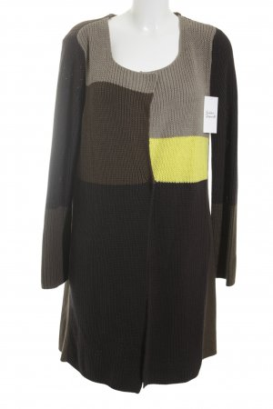 Biba Strickmantel Colourblocking Casual-Look