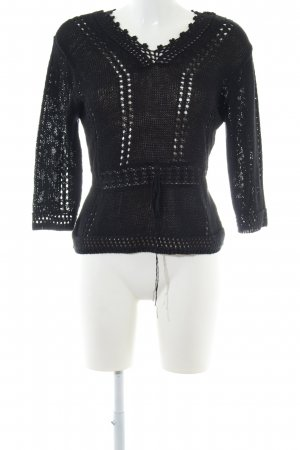 Biba Knitted Sweater black casual look
