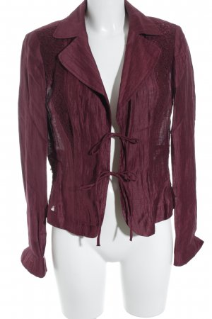 Biba Sweatblazer bordeauxrot Business-Look