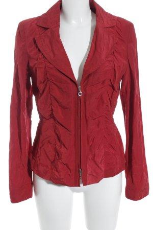 Biba Sweatblazer rood zakelijke stijl