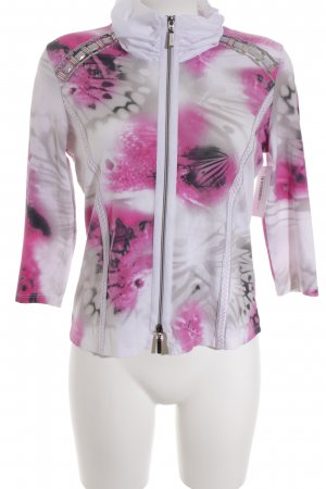 Biba Sweat Jacket abstract pattern casual look