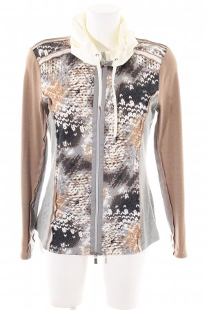 Biba Sweat Jacket abstract pattern casual look