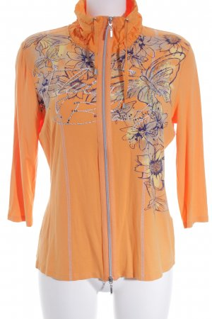 Biba Sweat Jacket floral pattern casual look