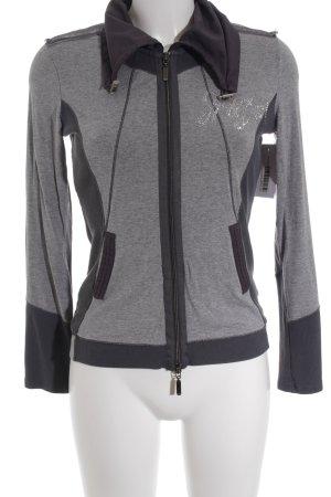 Biba Giacca fitness grigio-grigio scuro stile casual
