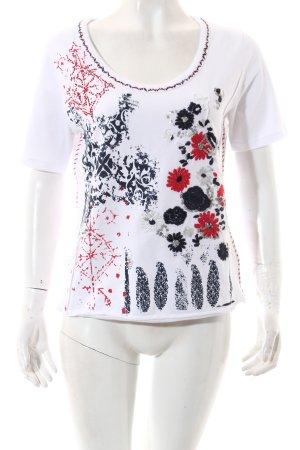 Biba T-Shirt florales Muster Casual-Look