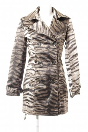Biba Trench Coat animal pattern extravagant style