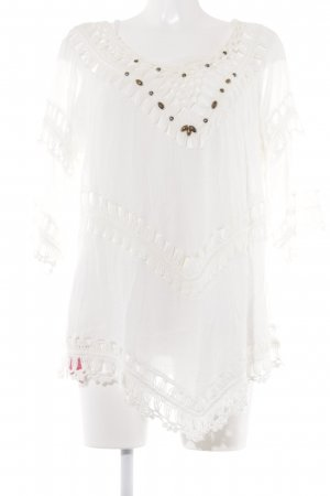 Biba Tunic Blouse white-bronze-colored casual look