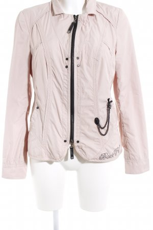 Biba Between-Seasons Jacket dusky pink-black casual look