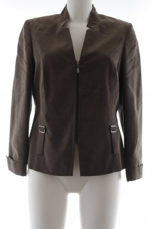 Biba Between-Seasons Jacket grey brown casual look