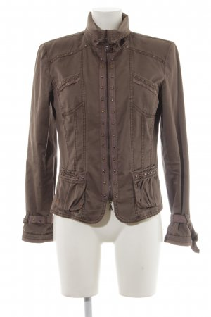 Biba Between-Seasons Jacket light brown street-fashion look
