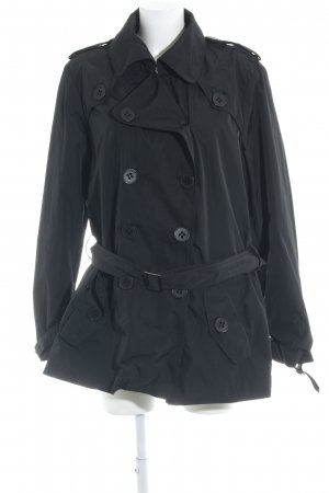 Biba Between-Seasons-Coat black simple style